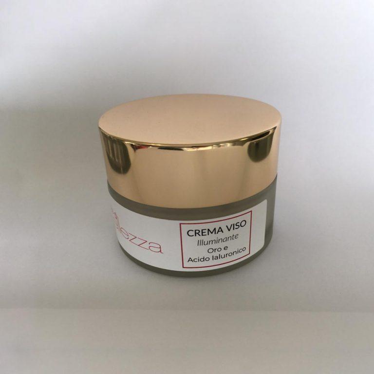 CREMA VISO con ORO e Acidi Ialuronici Note di Bellezza 50 ml